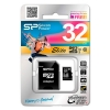 Silicon Power SP032GBSTHBU1V10-SP 32Gb MicroSDHC Class 10 Elite UHS-I