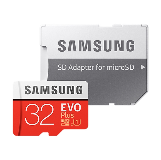 Samsung MB-MC32GARU 32Gb microSDHC Evo Plus + SD адаптер