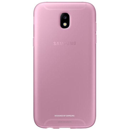 Samsung Силиконовый чехол для Galaxy J5 (2017) Jelly Cover EF-AJ530TPEGRU Розовый