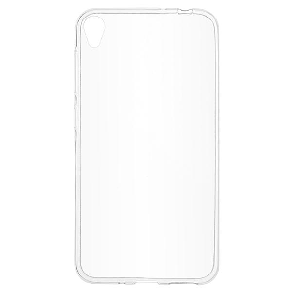 Skinbox Силиконовый чехол для Asus ZenFone Live ZB501KL Slim silicone 4People Прозрачный