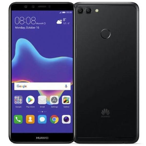 Купить Смартфон Huawei Y9 (2018) Black в каталоге интернет-магазина Quke по выгодной цене с доставкой, отзывы, фотографии - Москва