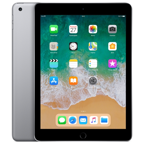 Apple iPad (2018) 128Gb Wi-Fi Space Gray