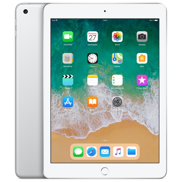 Apple iPad (2018) 128Gb Wi-Fi Silver