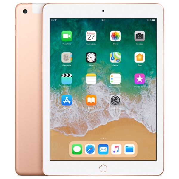 Apple iPad (2018) 32Gb Wi-Fi + Cellular Gold