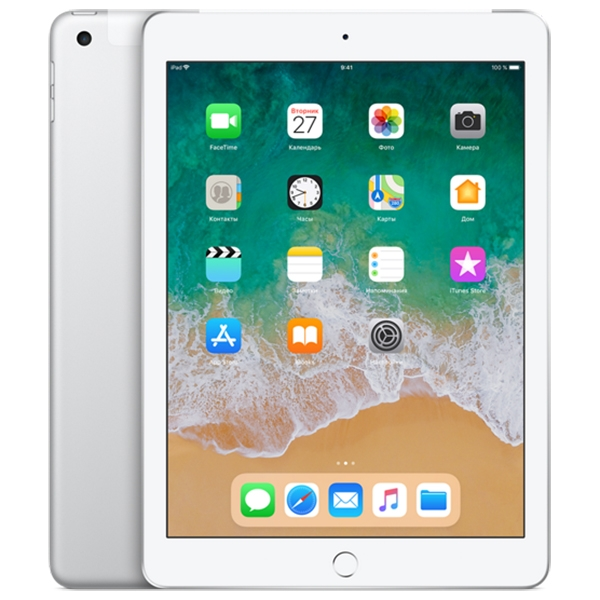 Apple iPad (2018) 32Gb Wi-Fi + Cellular Silver