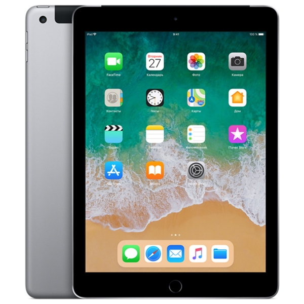 Apple iPad (2018) 128Gb Wi-Fi + Cellular Space Gray