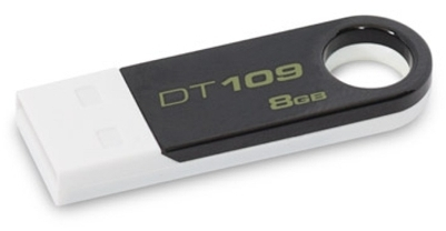 Kingston DataTraveler 109 8Gb White Black