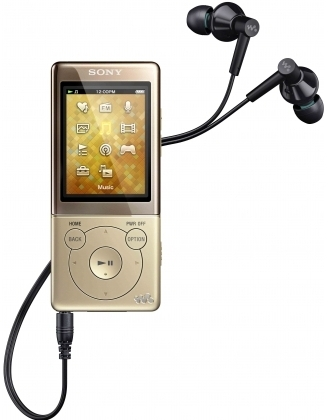 Sony NWZ-E474 8Gb Gold
