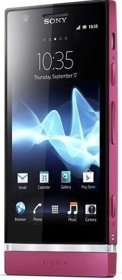 Sony Xperia P Pink