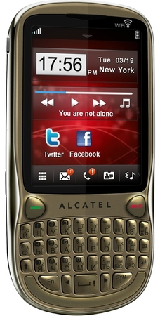 Alcatel One Touch 806D Bronze