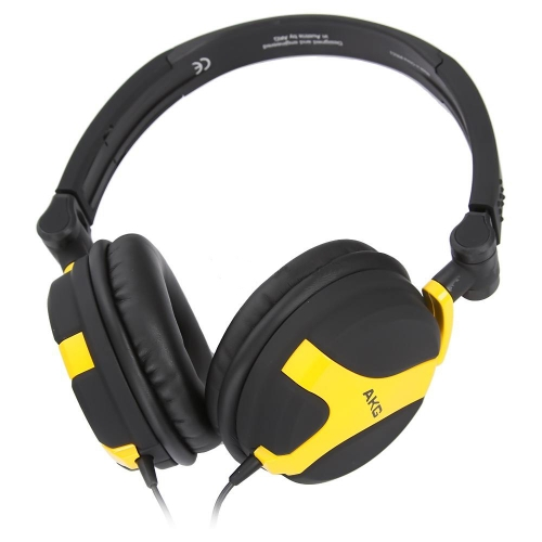 AKG K 518 LE Black Yellow