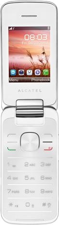 Alcatel One Touch 2010D Pure White