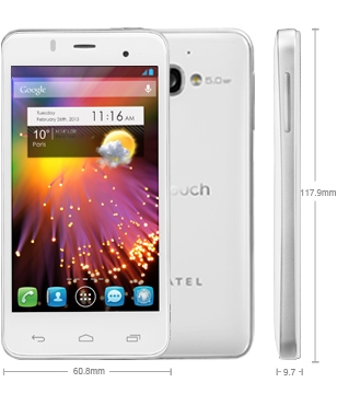 Alcatel One Touch Star Dual Sim 6010D White