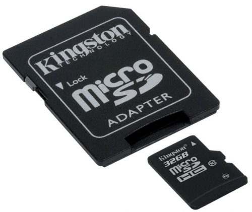Kingston 32Gb microSD Class 10