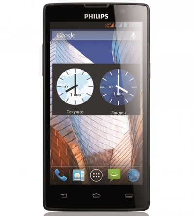 Philips Xenium W3500 Black
