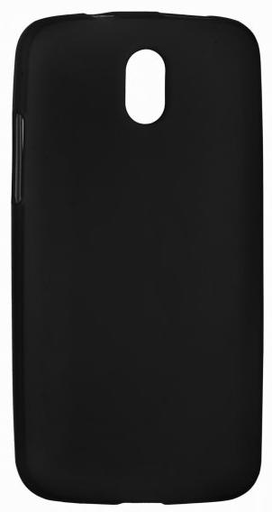 TPU Силиконовый чехол для HTC Desire 516 Dual Sim черный матовый