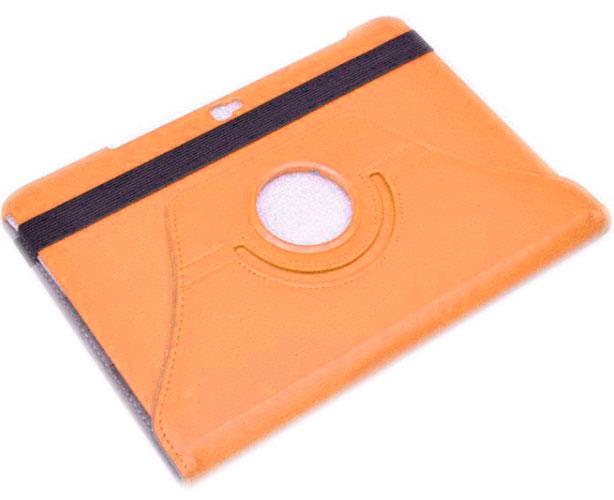 Skinbox для Samsung Galaxy Note 10.1 N8000 Rotation 360 оранжевый