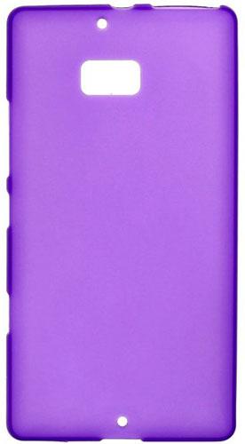 TPU Силиконовый чехол для Nokia Lumia 930 фиолетовый матовый