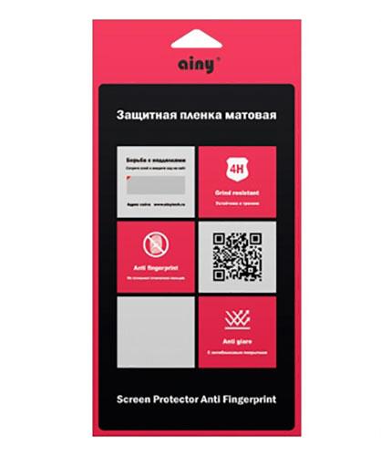 Ainy Защитная плёнка для Apple iPhone 6 Plus (передняя и задняя) матовая