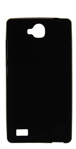 TPU Силиконовый чехол для Huawei Honor 3C черный матовый
