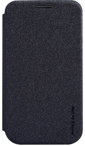 Чехол книжка для LG L40 D170 Nillkin Sparkle Leather Case черный