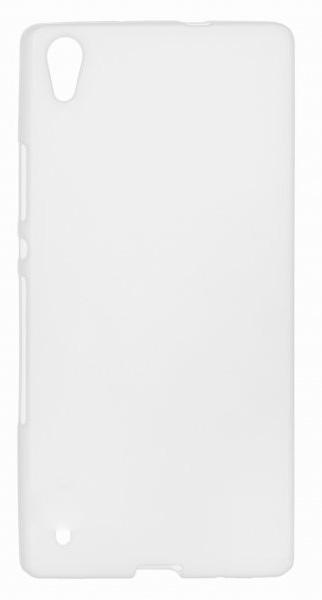 TPU Силиконовый чехол для Huawei Ascend P7 mini белый матовый