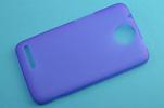 Силиконовый чехол для HTC Desire SV TPU фиолетовый матовый