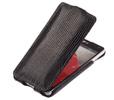Чехол книжка для LG G Pro 2 D838 Abilita черный варан