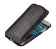 Чехол книжка для Samsung Galaxy Ace 3 GT-S7270 Abilita чёрный варан
