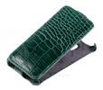Чехол книжка для Samsung Galaxy Express 2 Abilita зелёный крокодил