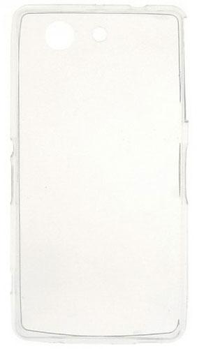 TPU Силиконовый чехол для Sony Xperia Z3 Compact D5803 прозрачный глянцевый