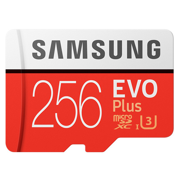 Samsung MB-MC256GARU 256Gb microSDXC EVO Plus V2 + SD адаптер