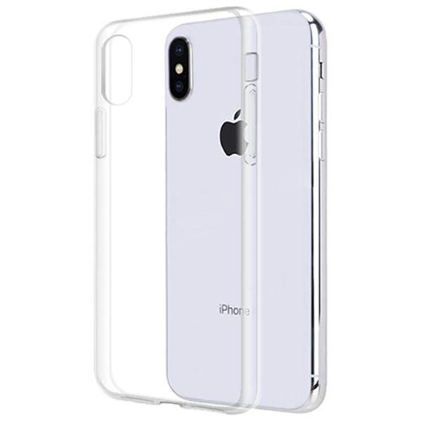 Чехол iBox, Силиконовый чехол для Apple iPhone XS Crystal Прозрачный  - купить со скидкой