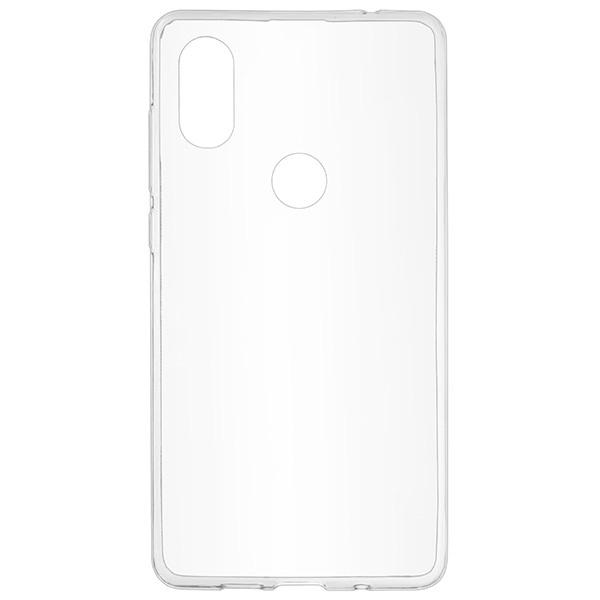 Силиконовый чехол Skinbox для Xiaomi Mi A2 Slim Silicone 4People Прозрачный фото