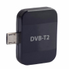 TV Box Android TV tuner DVB-T2 microUSB Black