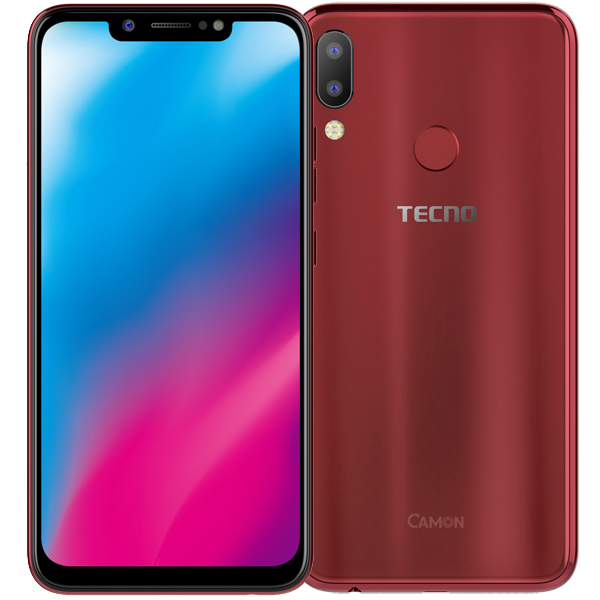 Tecno Camon 11 Bordeaux Red