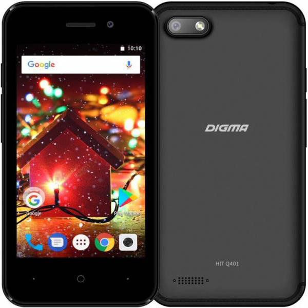 Digma Hit Q401 3G Black