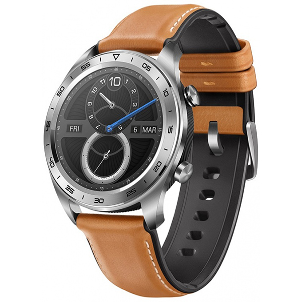Huawei Honor Watch Magic (leather strap) Silver