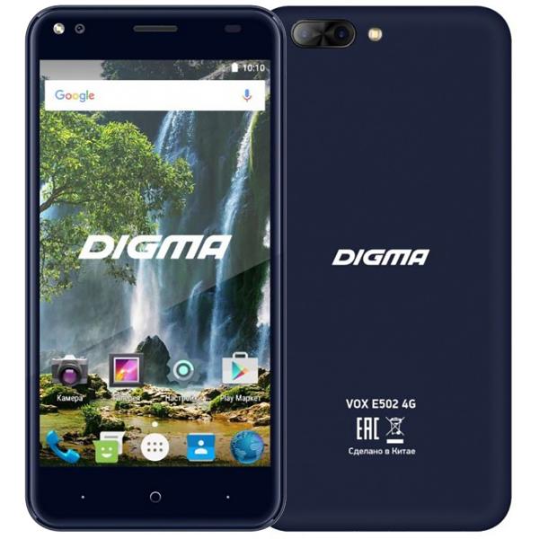 Digma Vox E502 4G Dark Blue