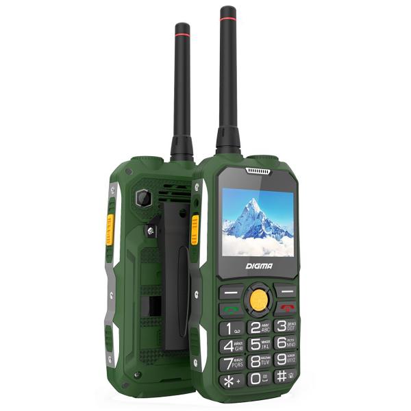 Телефон Digma Linx A230WT 2G Dark Green digma linx a230wt 2g черный