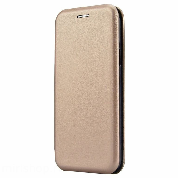 Чехол книжка для Samsung Galaxy J2 Core SM-J260 Fashion Case 3D Золотой