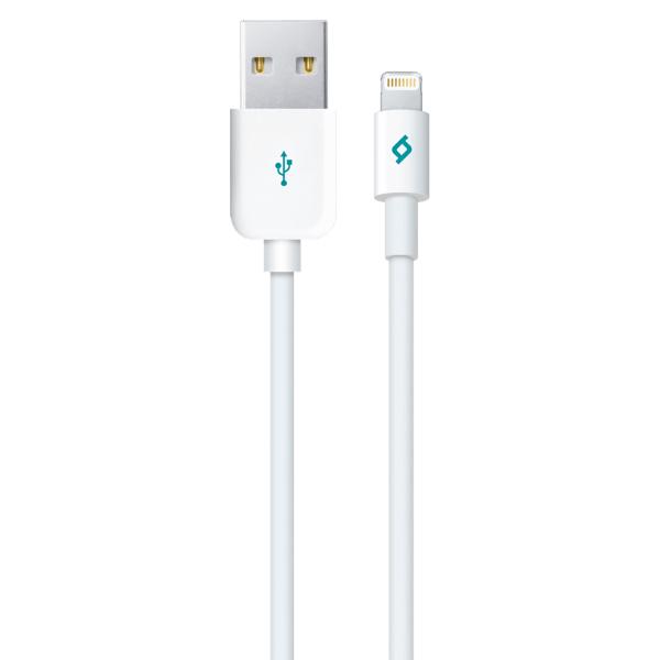 Кабель USB для Lightning Ttec 2DK7508B 1м Белый фото