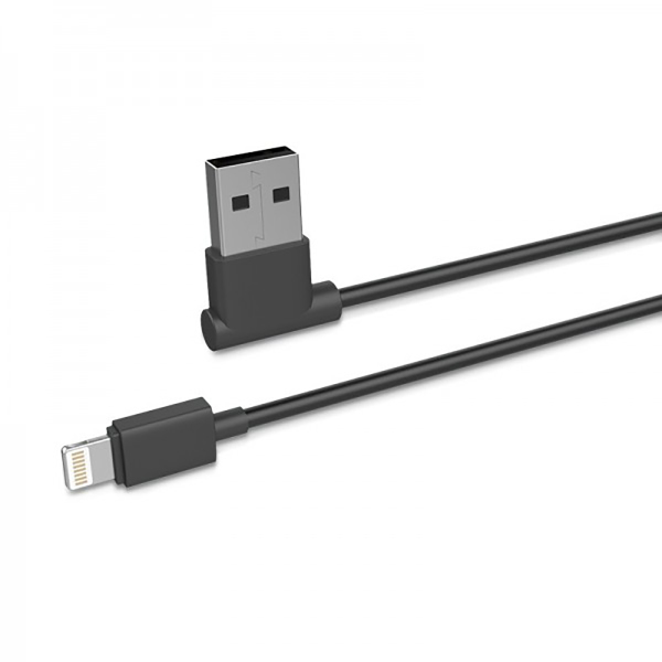 Кабель USB для Apple Lightning Hoco UPL11 TPU 1.2м Черный