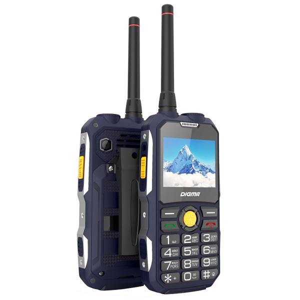 Телефон Digma Linx A230WT 2G Dark Blue digma linx a230wt 2g черный