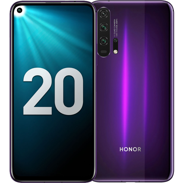 Huawei Honor 20 Pro 8 256Gb Phantom Black