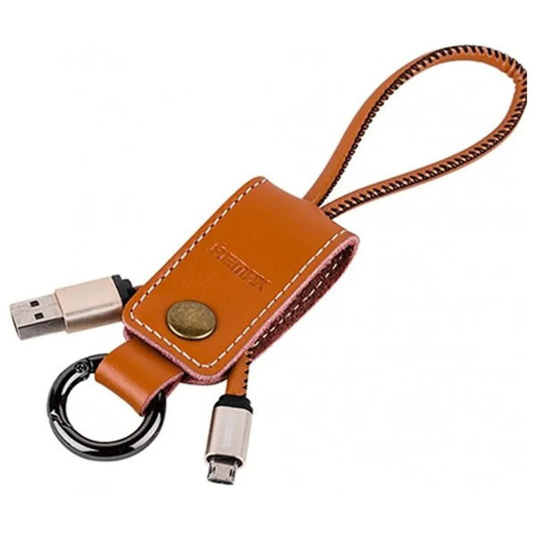 Кабель USB MicroUSB Western 0.32м Коричневый