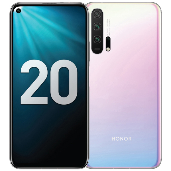 Huawei Honor 20 Pro 8 256Gb Coral White