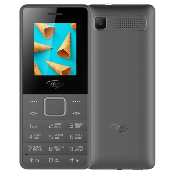 Itel it2160 Deep Grey