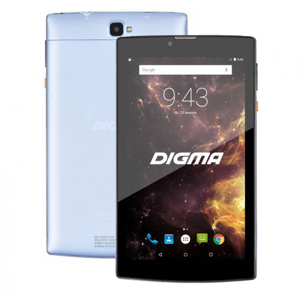 Digma Plane 7012M 3G Light Blue