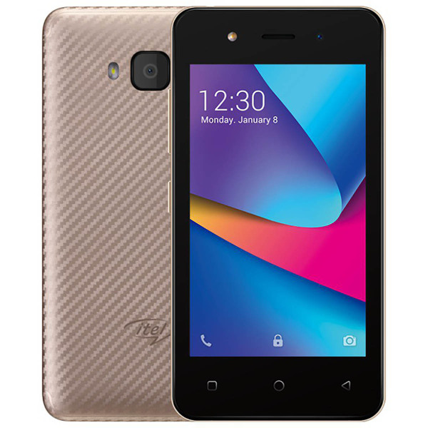 Itel A14 Champagne Gold
